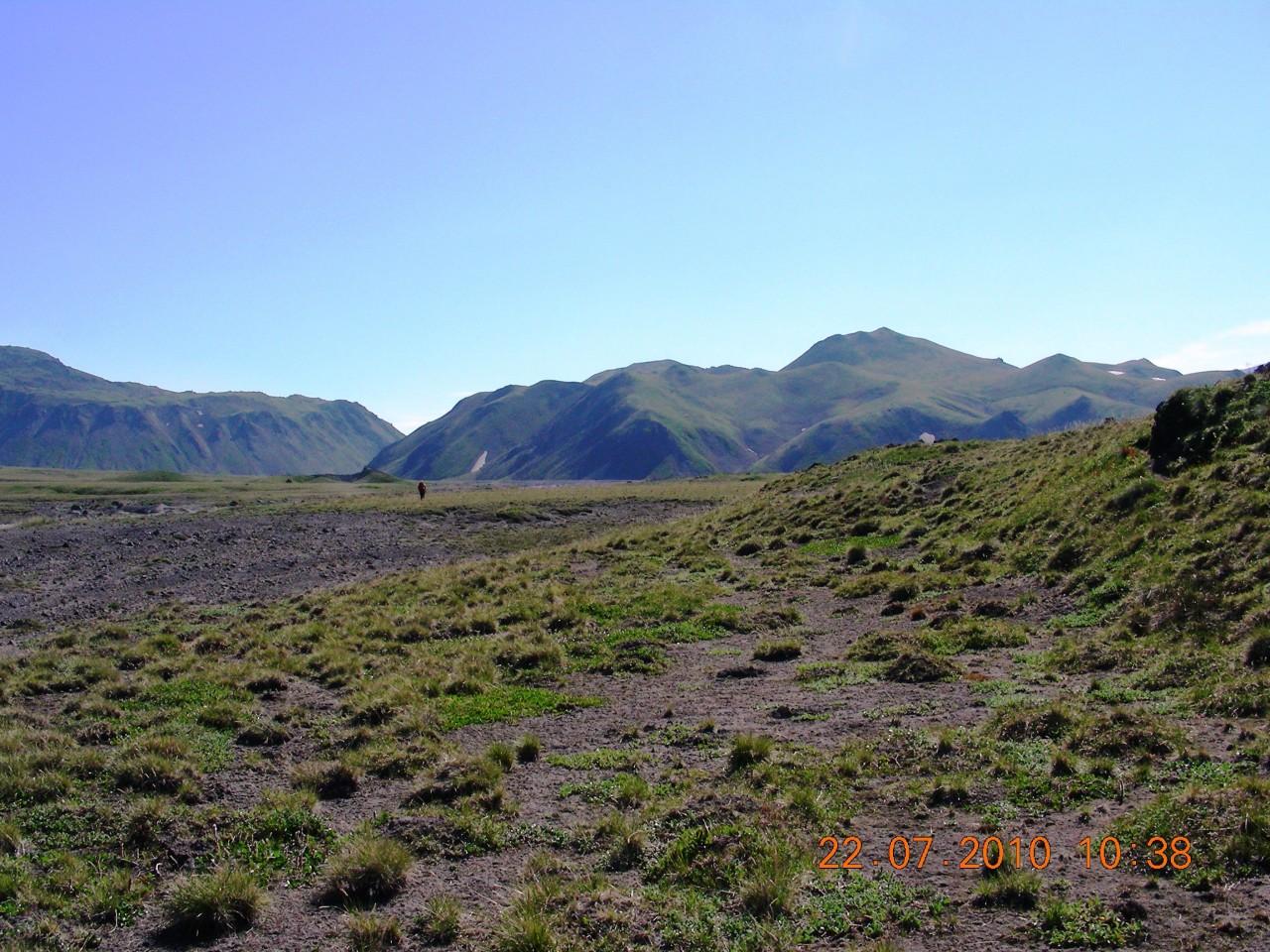 Горное плато перед Толбачиком.