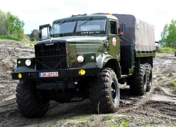 10 легендарных советских грузовиков автомобили