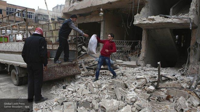 В Минобороны заявили, что за последнюю неделю по Дамаску было выпущено 228 мин из Восточной Гуты