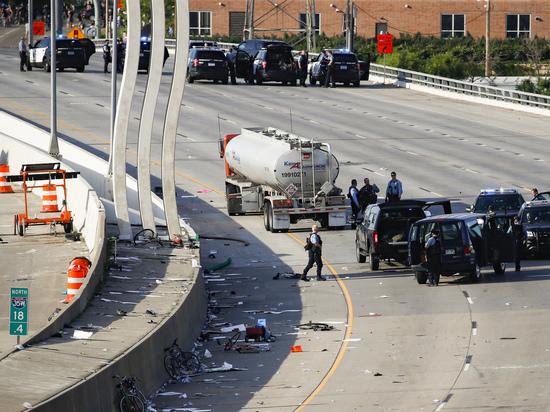 Въехавшим в толпу в Миннеаполисе на грузовике оказался украинский «атошник» Вечирко