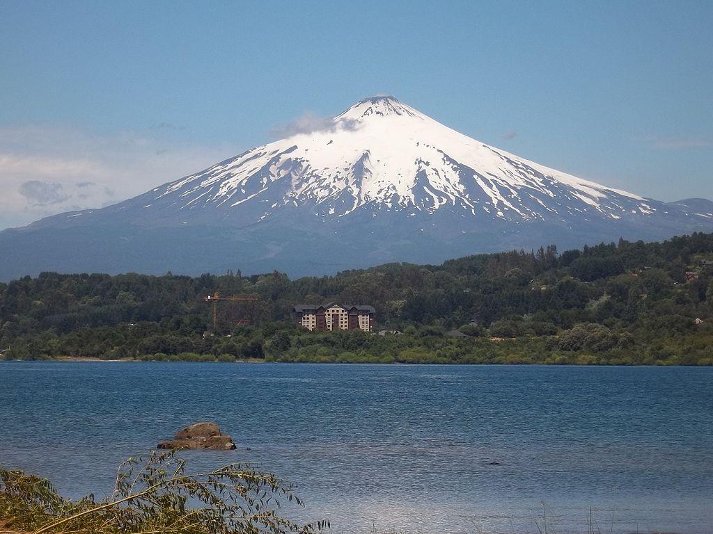 Вулкан Вильяррика, Чили