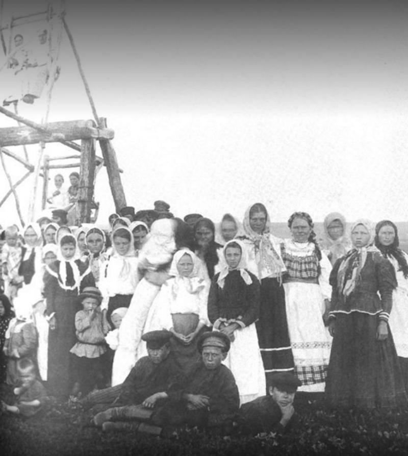Катание на релях на Пасху, 1904 год 19 век, жизнь до революции, редкие фотографии, снимки, фотографии, царская россия
