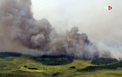 В Якутию на борьбу с лесными пожарами направили Бе-200