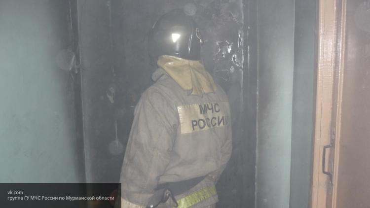 В Черняховске в двухэтажном доме загорелась мебель
