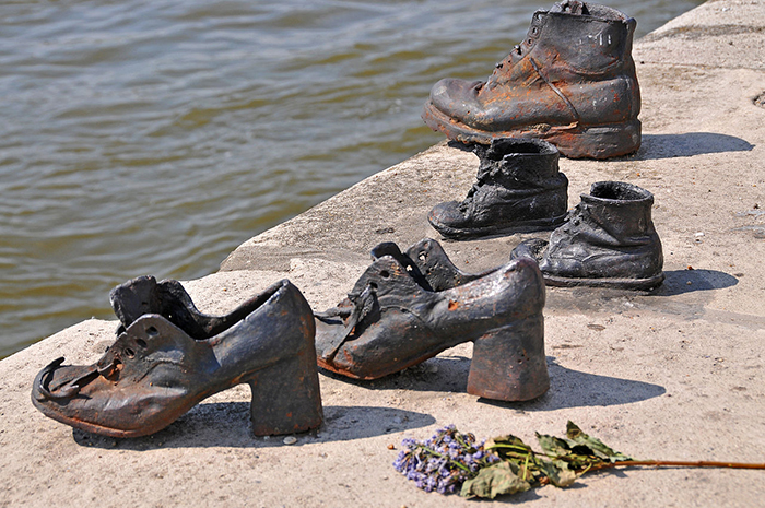 Мемориал на берегу Дуная.