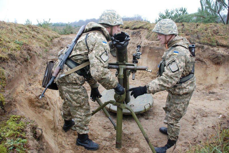 Украинский миномет «Молот» самоликвидировал трех «АТОшников» — «волонтер»