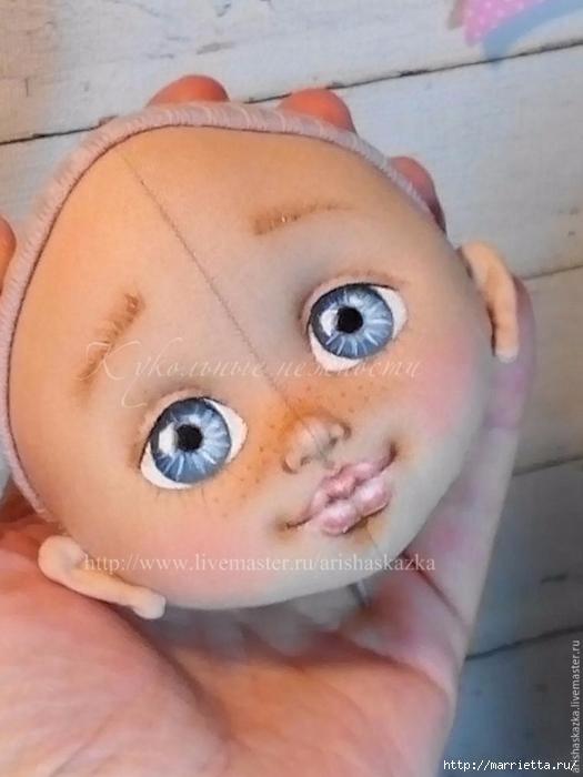 Как сделать кукольную головку из хлопка (2) (525x700, 190Kb)