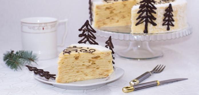 Популярный торт «Нежный Напо…