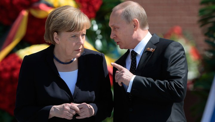 Путин загоняет Меркель в ловушку