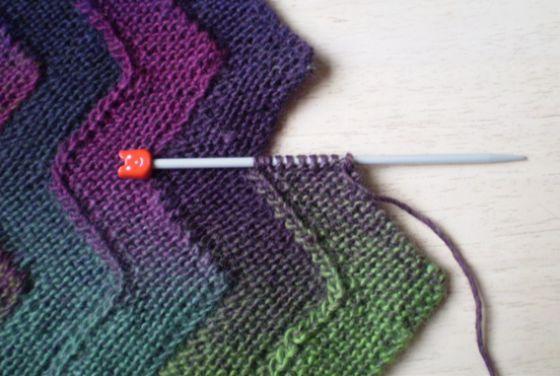 Метод набора полосок: мастер-класс по вязанию