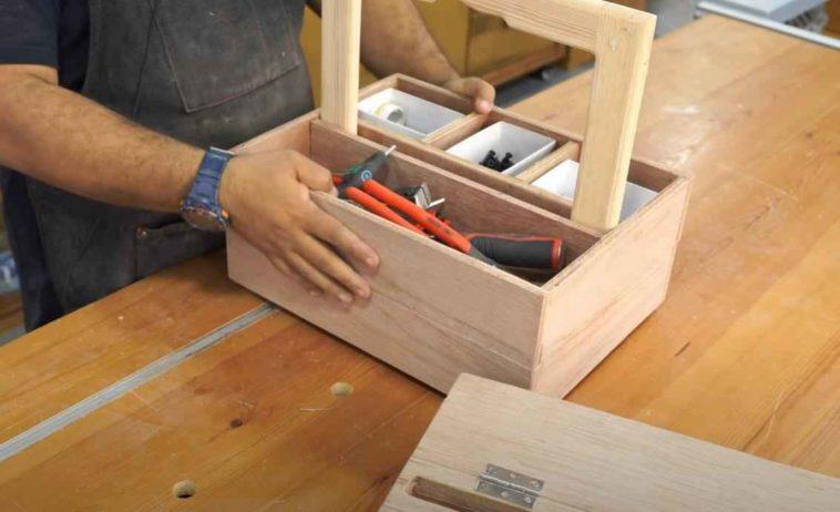 Как сделать переносной органайзер для ручного инструмента