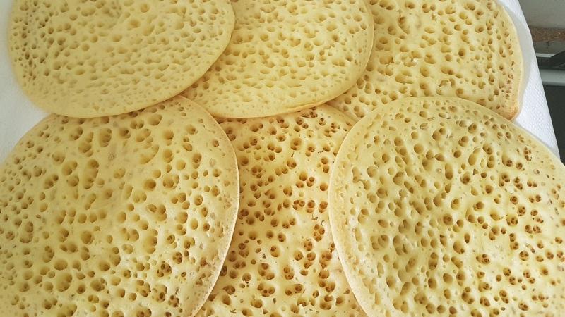 БАГРИР (марокканские лепешки)