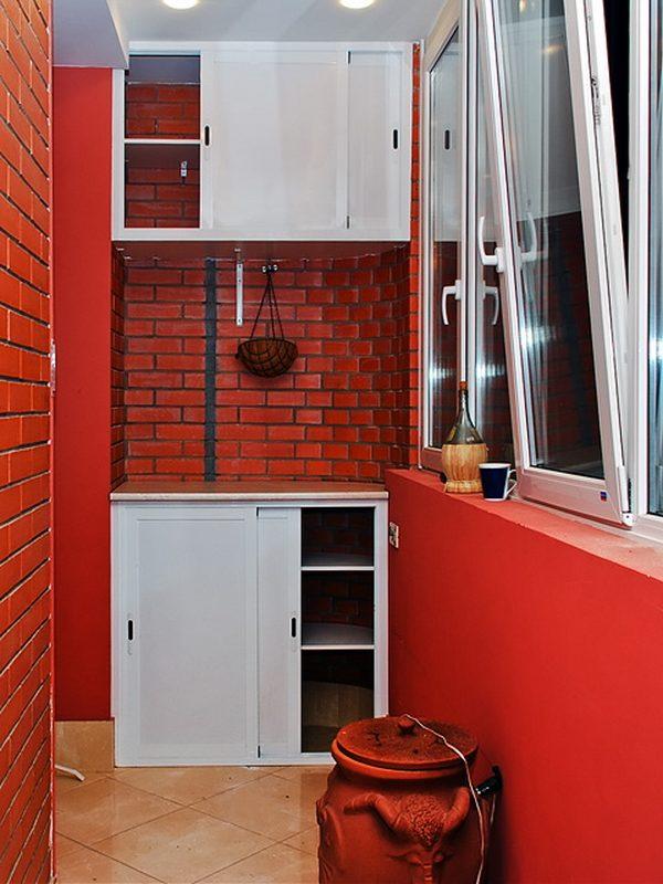 30 классных примеров шкафов на балконе.