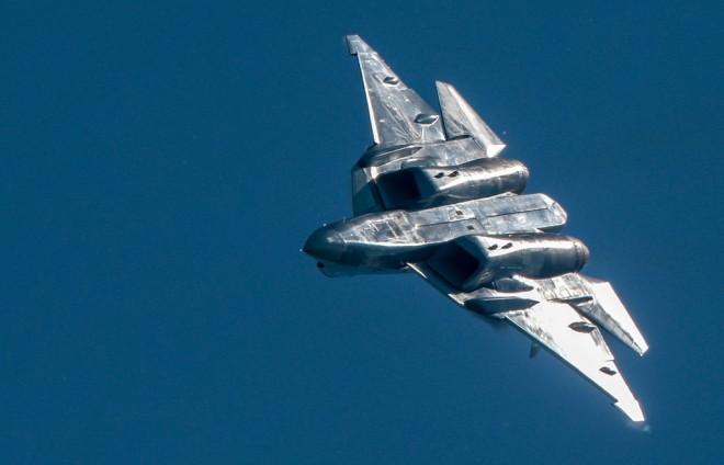 Су-57: самолет который уважают американцы истребитель