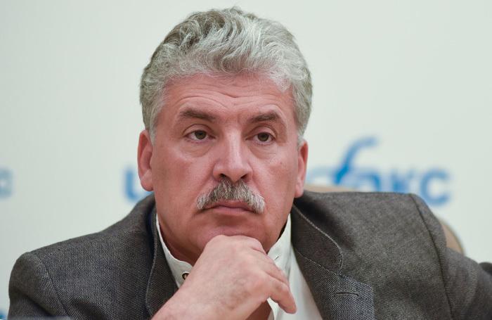 Суд признал незаконной передачу Грудинину депутатского мандата
