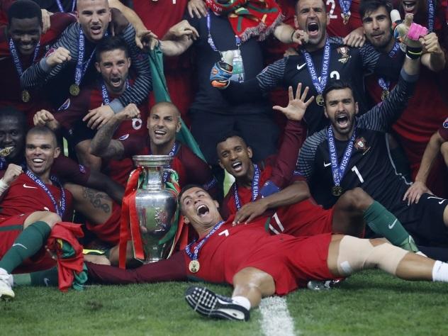 Португальцы впервые в истории стали чемпионами Европы