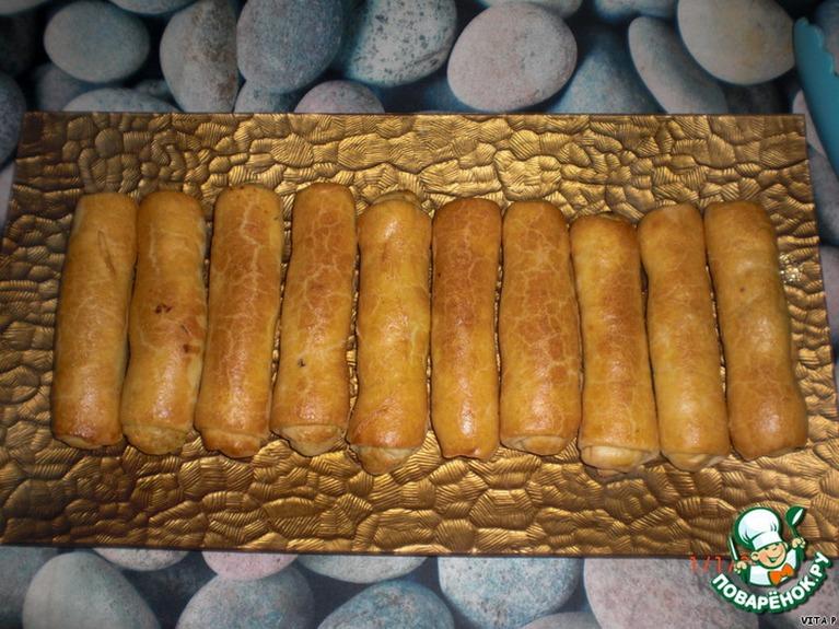 Пирожки с капустой «Сигары»
