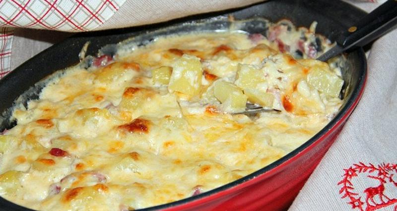 Как запечь картофель на противне