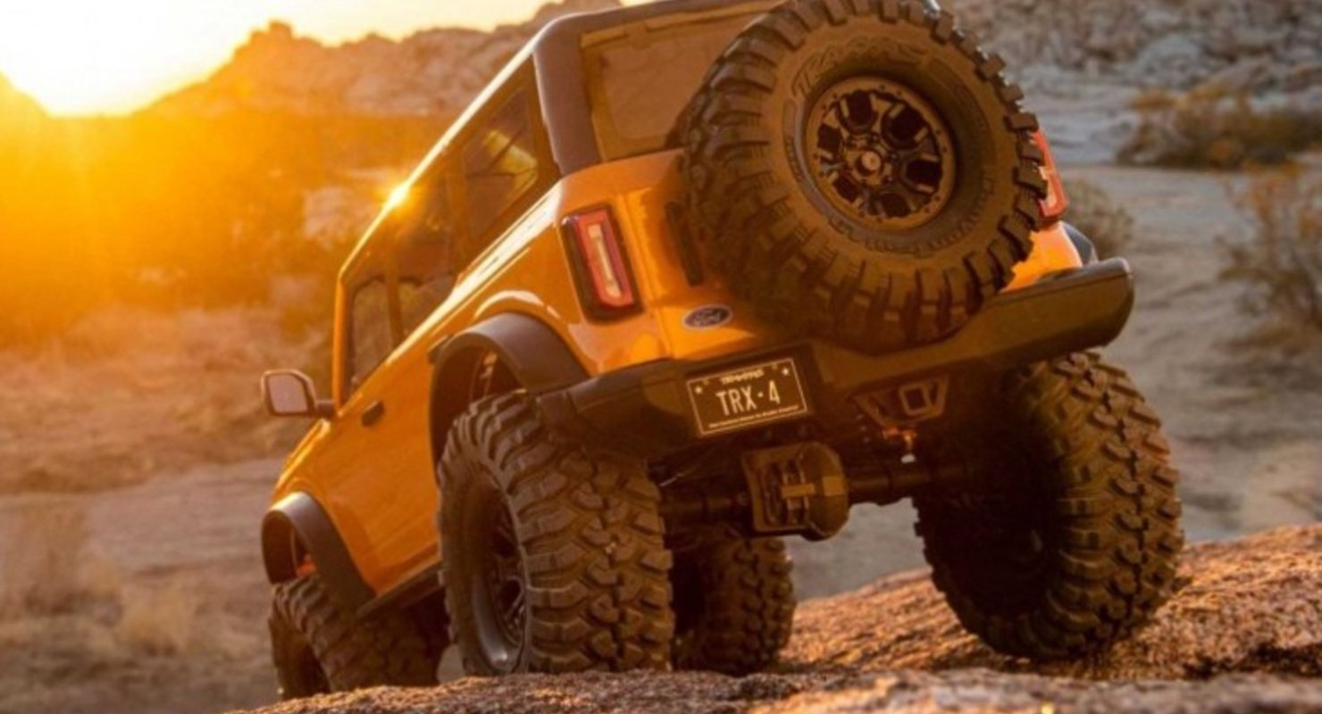 Traxxas представил очень реалистичную модель внедорожника Ford Bronco Автомобили