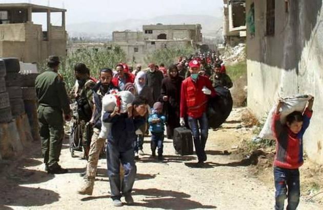 Россия рассчитывает достигнуть соглашения с крупной повстанческой группировкой в сирийской Гуте