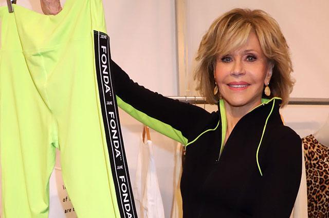 81-летняя Джейн Фонда стала лицом спортивной коллекции Новости моды