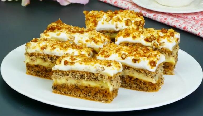 Пирожное «Крантц» – для любителей похрустеть!