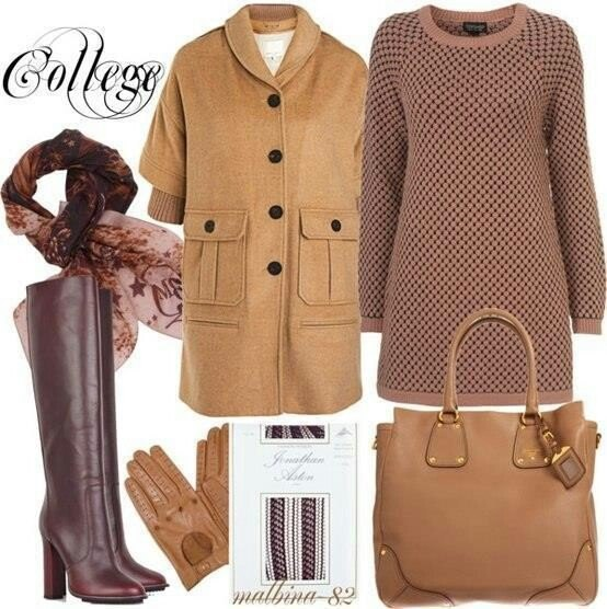 И зимой можно быть разной - 16 стильных образов для холодного времени года мода