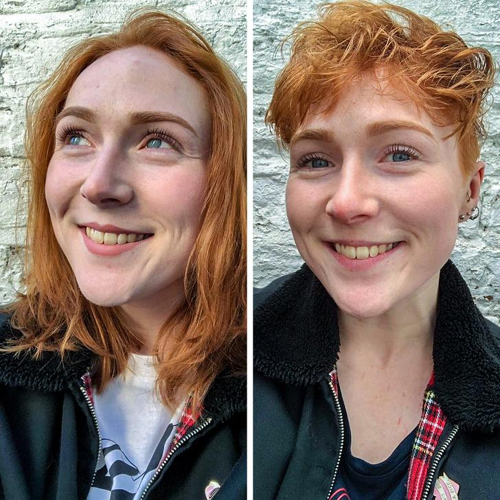 До и после - 20+ женщин и девушек, которых сильно преобразила кардинальная смена прически
