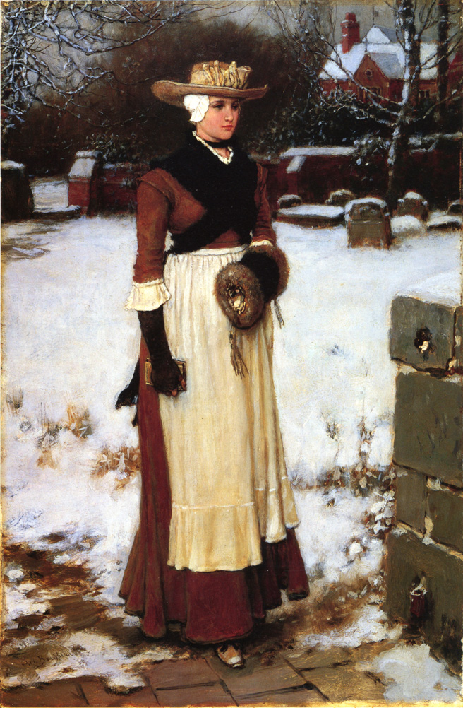 George Henry Boughton - Puritan Maiden.jpg