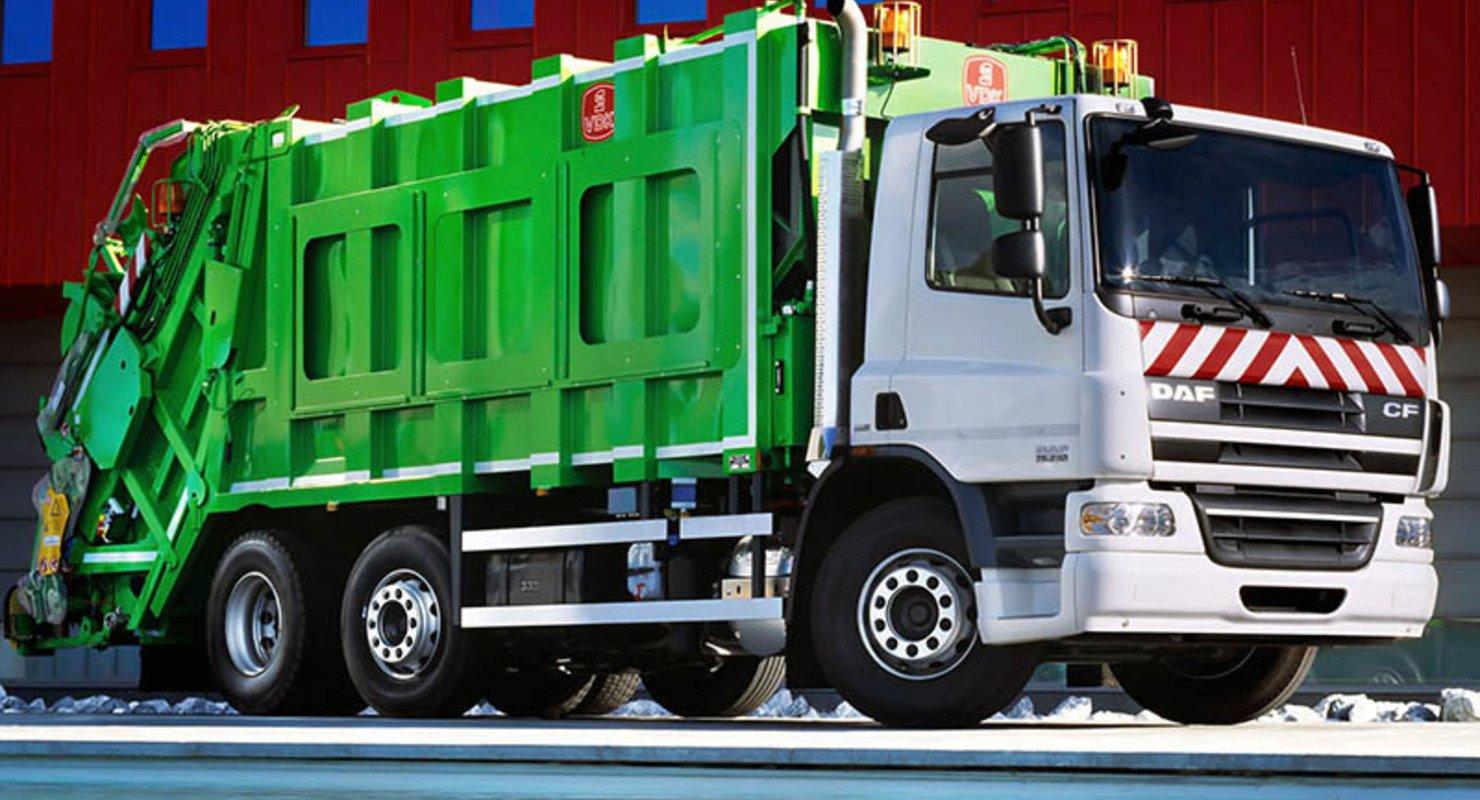 Машина-мусоровоз — входной билет в малый бизнес Автомобили