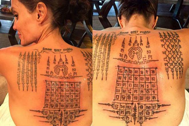 Cак Янт: культ магических тайских татуировок