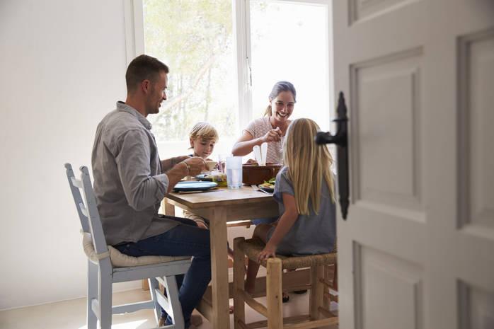 Папа может: быстрые варианты завтрака для ребенка