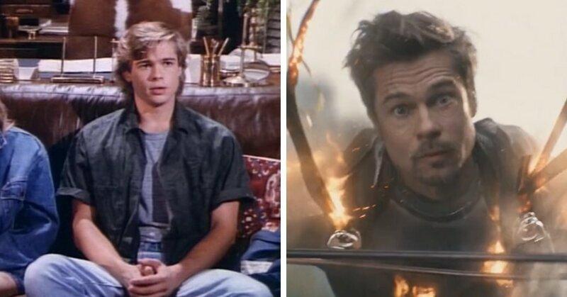 Вот как выглядели звёзды Голливуда в своей первой роли и в фильмах 2018 года актеры
