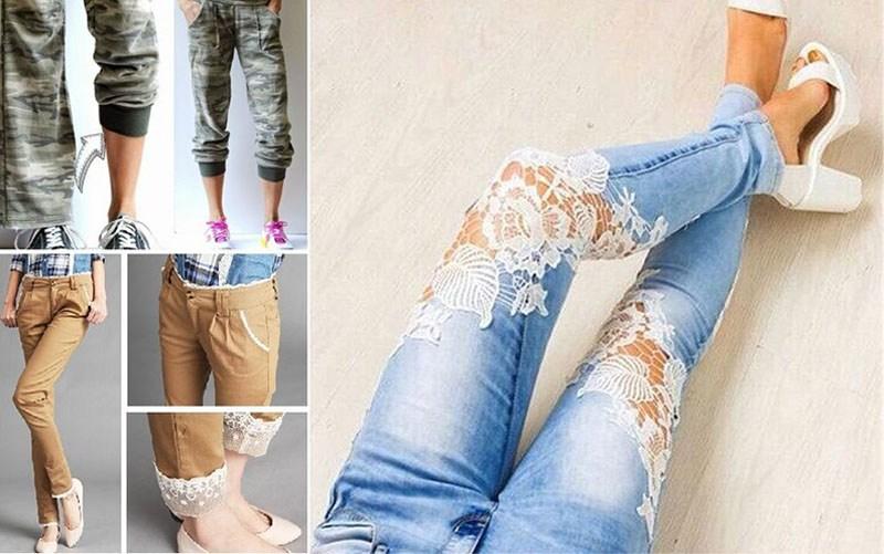 дизайн джинсов и брюк