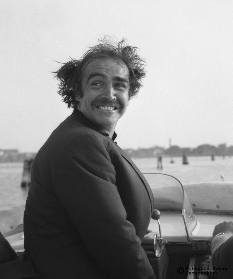 Шон Коннери архив, венеция, негативы, фотографии