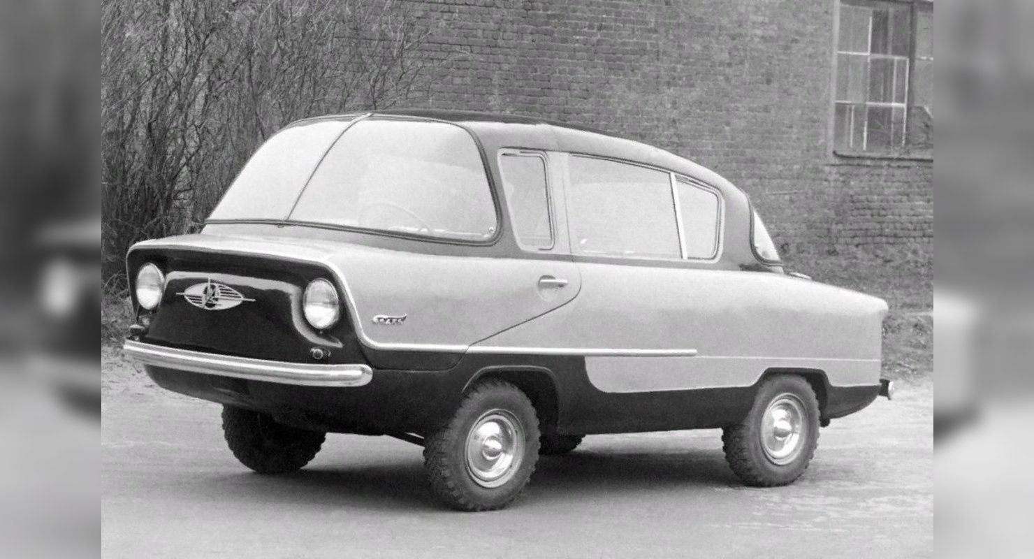 «Белка» — народный автомобиль из СССР Автомобили