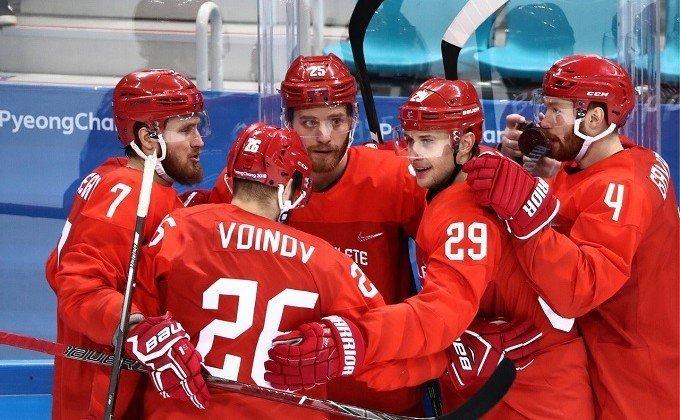Сборная России похоккею впервые вистории взяла олимпийское золото