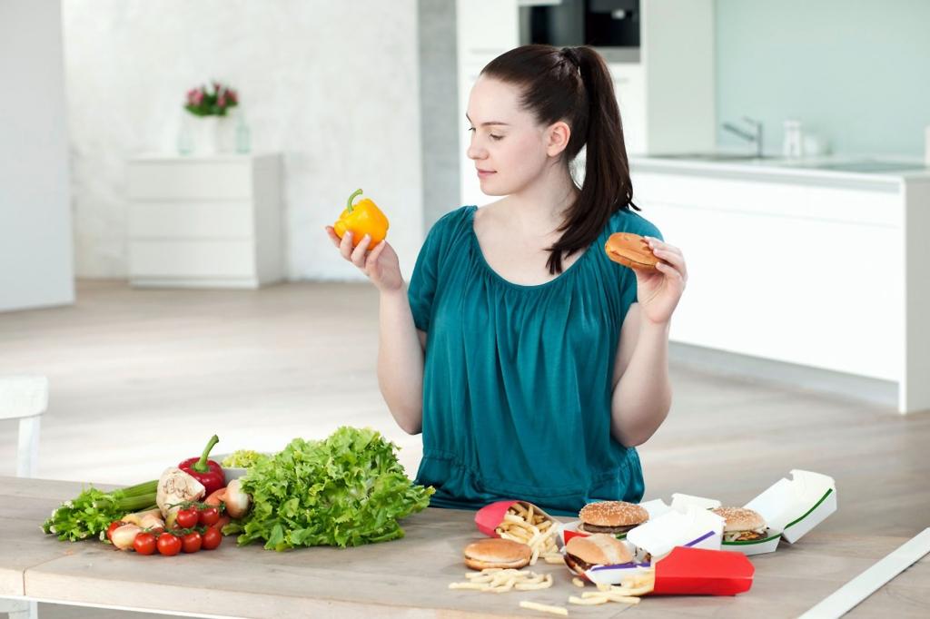 Правильное соблюдение диеты