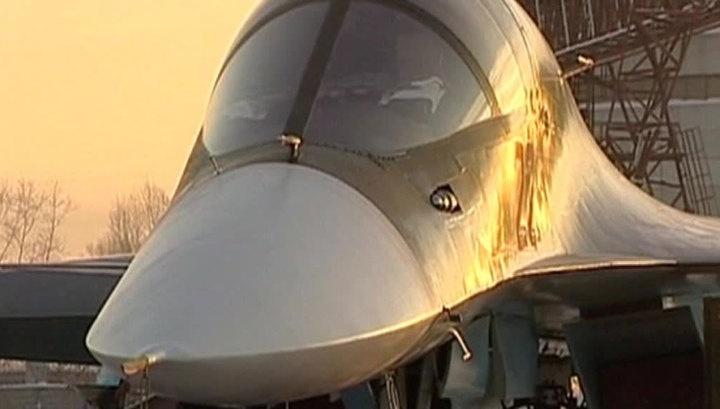 Российские военные получили первые бомбардировщики в этом году