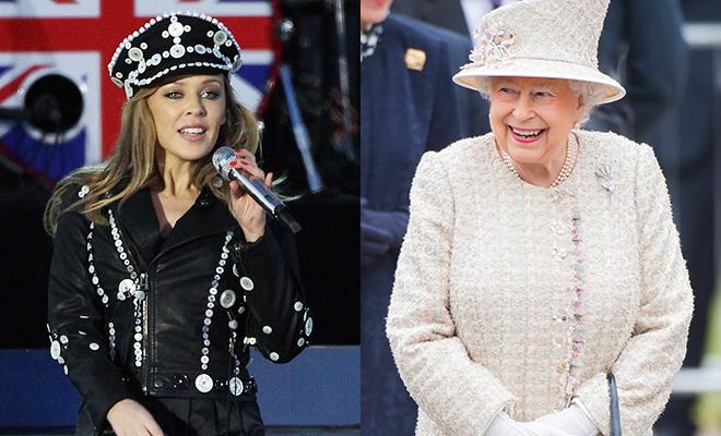Елизавета II пригласила выступить на своем дне рождения Кайли Миноуг и других звезд шоу-бизнеса