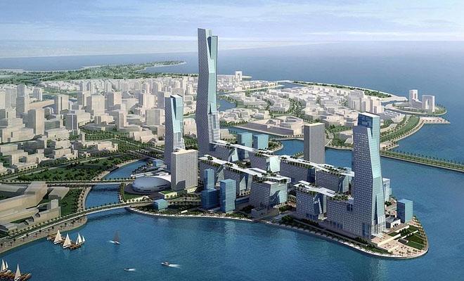 Город без машин и улиц. В Саудовской Аравии строят город, который будет на таким, как все остальные