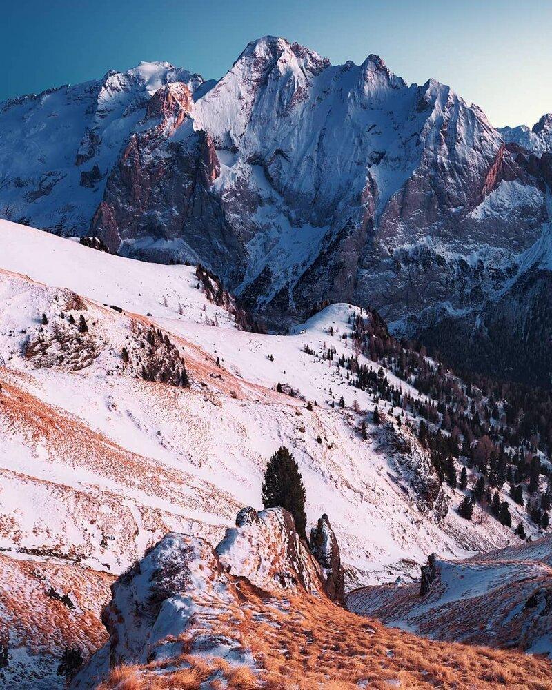 6. Альпы, горные вершины, горы, пейзажи, природа, фото природы, фотограф, фотографии природы