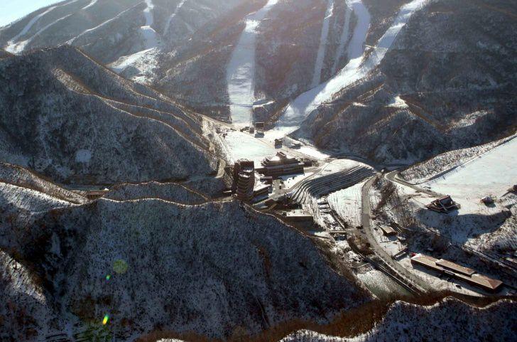 Первый горнолыжный курорт в КНДР