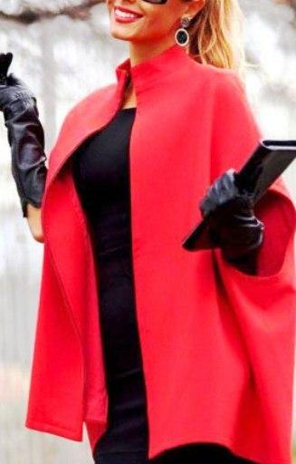Тренд сезона осень 2016 — пальто с короткими рукавами. Для тех, кому хочется чего-то особенного!
