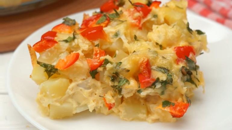 Картофельная запеканка с куриным филе: превзойдет все ожидания