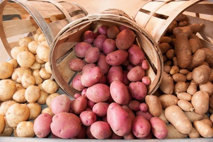 Маленькая хитрость, благодаря которой картофель долго хранится и не прорастает картофель,лайфхак,полезные советы,хранение