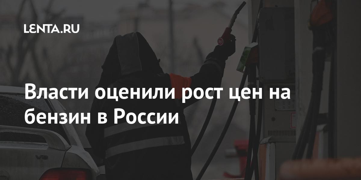 Власти оценили рост цен на бензин в России Экономика