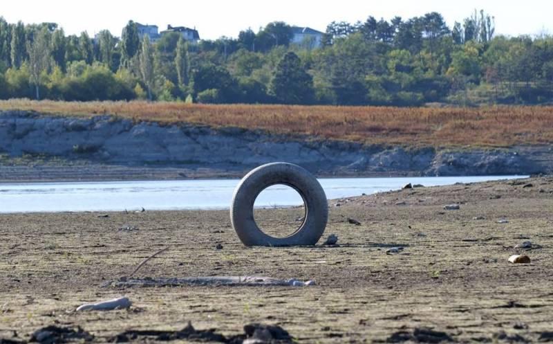 На Украине злорадствуют по поводу массового высыхания крымских озёр