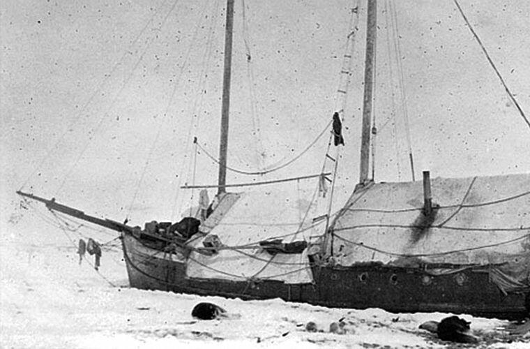 Борт шхуны Ада Блэкджек, арктика, интересно, история, познавательно, факты