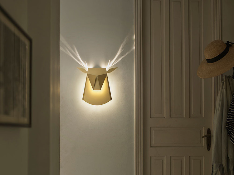nature-inspired furniture popup lighting lamp